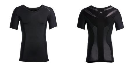 Anodyne -T-Shirt de posture classique sans zip