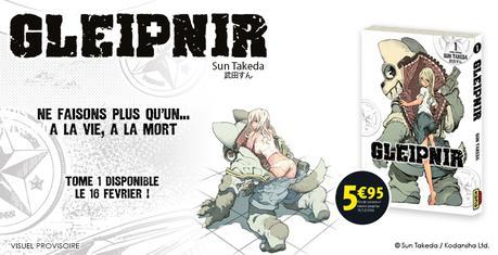 Le seinen manga Gleipnir annoncé chez Kana