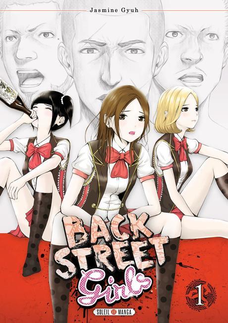 Le manga Back Street Girls adapté en animé