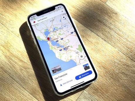 Google Maps s'adapte à l'écran de l'iPhone X (et c'est beau)