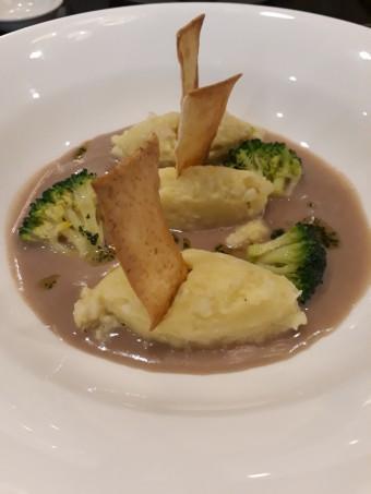 Morue, brocolis, haricots © Gourmets&co