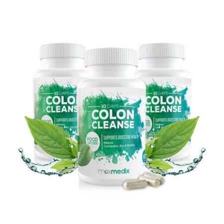 Produit pour Nettoyer le Côlon: Intensive Colon Cleanse (Nettoyant Côlon Intensif) – avis, ingredients, prix