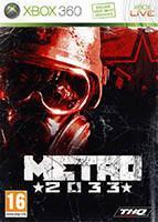 Jaquette DVD de l'édition Pal du jeu vidéo Metro 2033