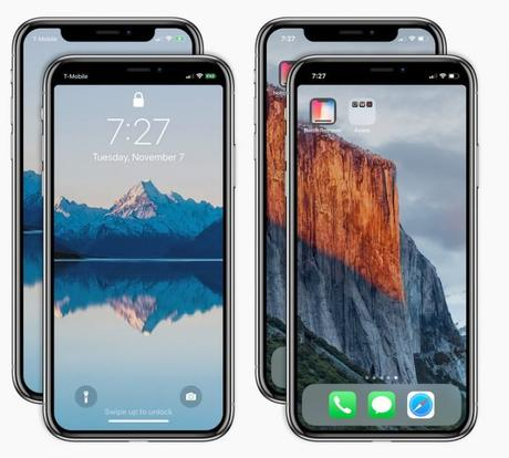 Notch Remover : une application pour « supprimer » l'encoche de l'iPhone X