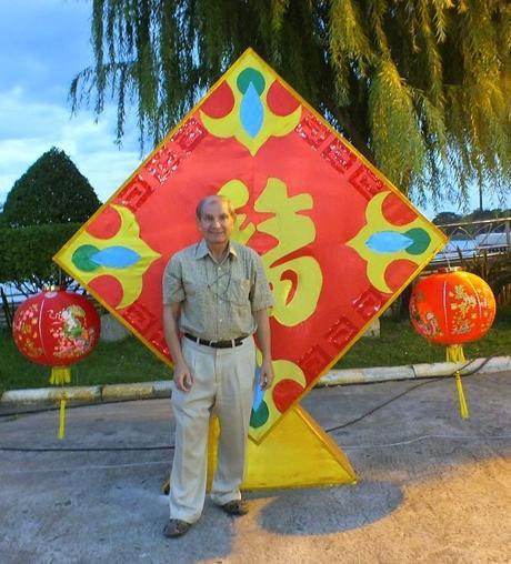 Udonthani: le Temple Pu Ya en décembre.