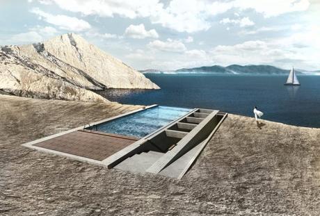«Casa Brutale», cette villa creusée dans une falaise verra le jour au Liban