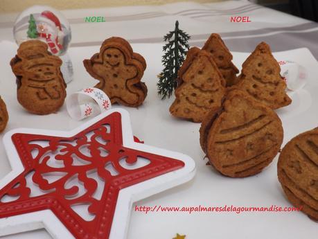 Petits biscuits de Noel, Vegan,sans beurre,lait, ni oeufs IG bas,Healthy,Hygge,