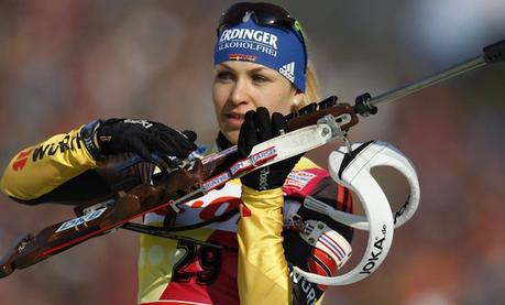Retour sur un monstre du sport: Magdalena Neuner alias «Shooting Star»