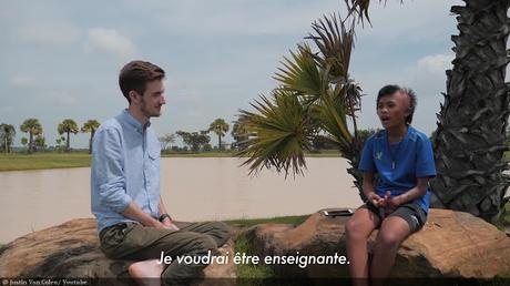 Reportage vidéo: Un globe-trotteur du coeur en Thaïlande