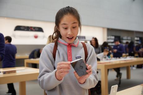 MySosh s'adapte à l'écran de l'iPhone X