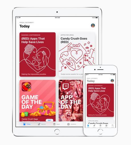 Apple et la journée mondiale de lutte contre le SIDA