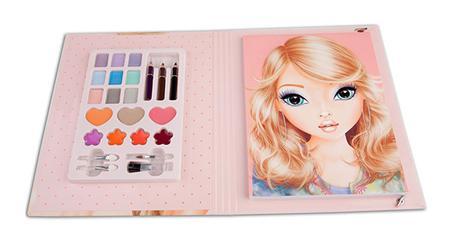 Album de coloriage Top model maquillage