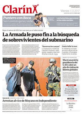 ARA San Juan: la fin des opérations de secours laisse les familles désemparées sans deuil national ni drapeaux en berne [Actu]