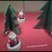 Chocolat sapin de Noël au thermomix - La cuisine de poupoule