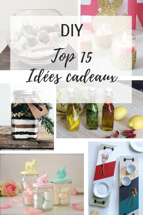 {Noël} le top 15 des idées cadeaux DIY