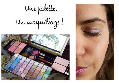 Défi MakeUp – Une palette, un maquillage !