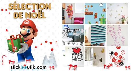 Sélection de Noël: Tous nos Stickers en Stock!