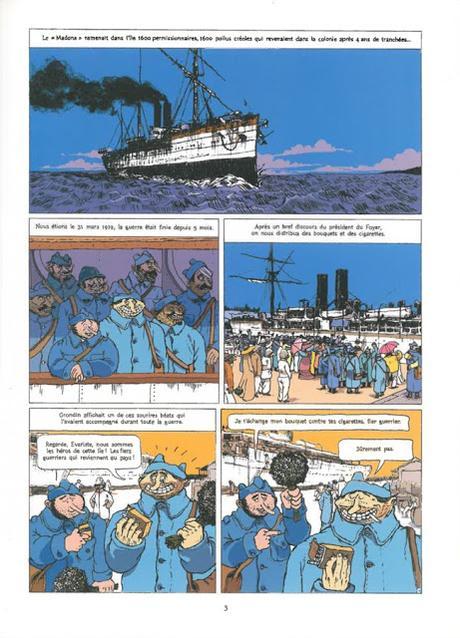 La Grippe Coloniale Tome 1 le retour d'Ulysse page 3 Vents D'Ouest