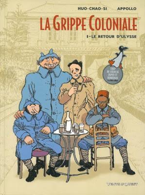 La Grippe Coloniale Tome 1 le retour d'Ulysse Vents D'Ouest