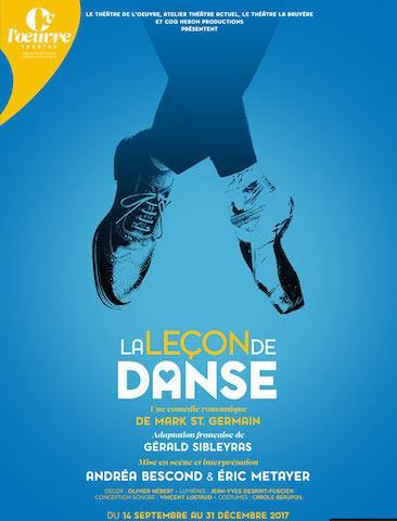 [Spectacle] La leçon de danse : une leçon d'humanité en deux temps trois mouvements