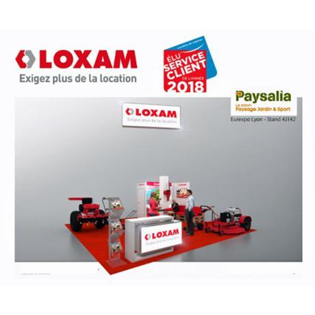 LOXAM : Découvrez sur PAYSALIA 2017 les matériels de la gamme Espaces Verts à la location pour les professionnels de la filière paysage (élagueuse, taille-haies, débroussailleuse, souffleur, tronçonneuse,…)