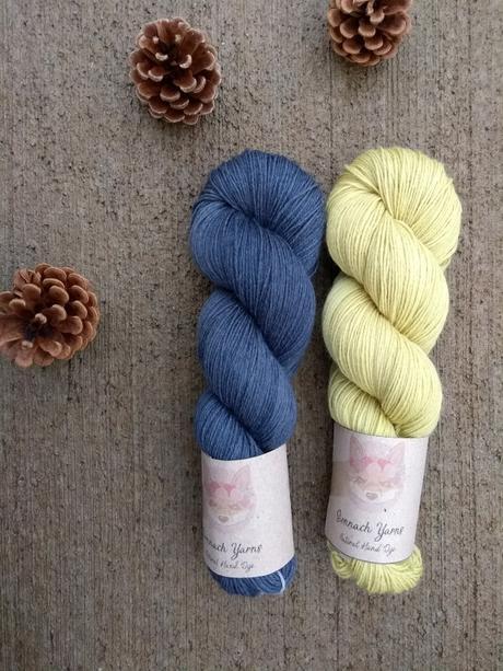 Sionnach Yarns, laines teintes de façon naturelle