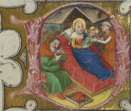 Nativite Missal of Eberhard von Greiffenklau, Walters Manuscript W.174, fol. 19r