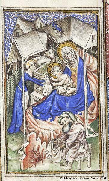Nativite Book of Hours, MS M.866 fol. 33v The Morgan Library and Museum