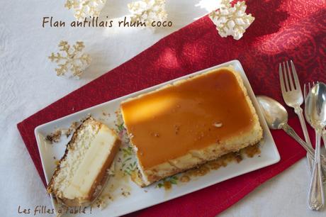 Flan antillais rhum coco – Recettes autour d'un ingrédient #34