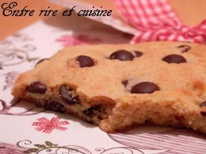 Cookies au lait concentré sucré (sans oeufs) - Recettes autour d'un ingrédient#34