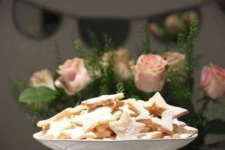 RECETTE sans gluten : Etoiles aux amandes et au citron