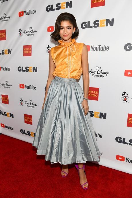 CALVIN KLEIN 205W39NYC Wardrobed Actress + Musician Zendaya