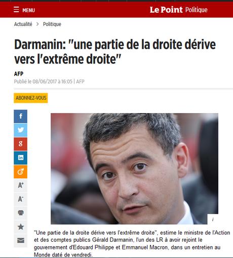 De qui se moque #Darmanin, crapule sarkozyste opportunément reconvertie dans #LREM ? #antifa