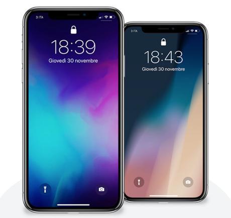 Les deux nouveaux fonds d'écran iPhone du Week