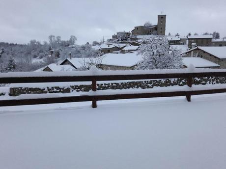 Forez sous la neige #auvergne