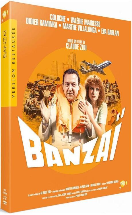 Critique Bluray: Banzaï
