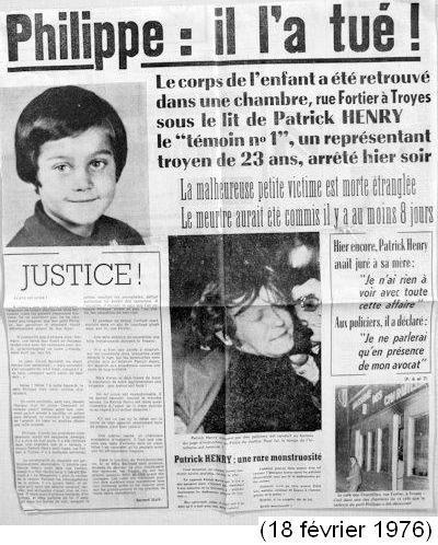 Patrick Henry et la France qui a peur
