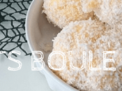 Biscuits boule coco