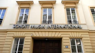 Wagner et la Maison Schott à Mayence. Reportage photographique.