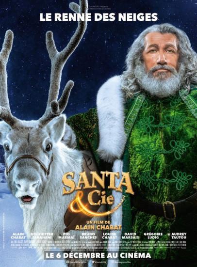 J'ai vu en avant première Santa & Cie d'Alain Chabat