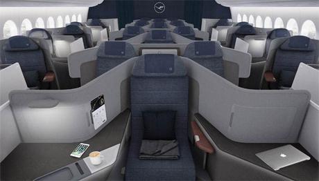 Lufthansa dévoile en avant-première sa nouvelle Business Class