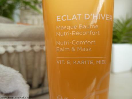 Crème de douche grand confort et masque baume Eclat d'hiver, le cocooning selon Ricaud