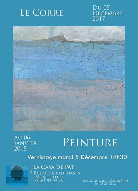 Exposition de peinture «Poésies visuelles» de André Le Corre