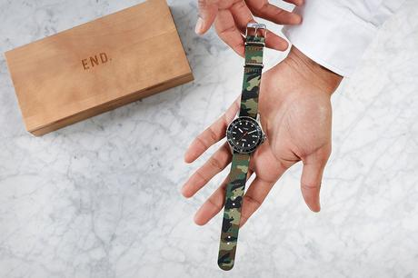 TIMEX FOR END. – F/W 2017 – TIMEPIECE PROJECT .01 – NAVI OCEAN WATCH