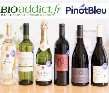 Bioaddict.fr lance une box de vins bio pour Noël