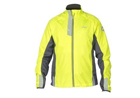 Présentation de la veste réfléchissante coupe-vent et de la housse de protection pour sac à dos !
