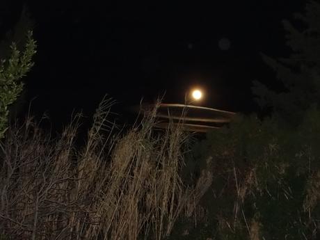 Lune divine d'un soir de mistral
