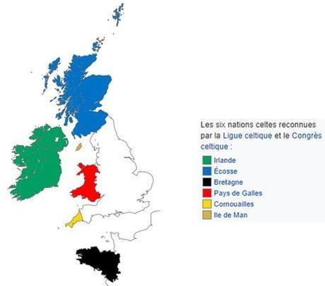 les terres celtes de nos jours