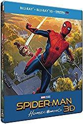 Critique Bluray 3D: Spiderman Homecoming