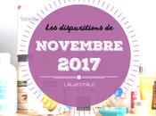 disparitions Novembre 2017